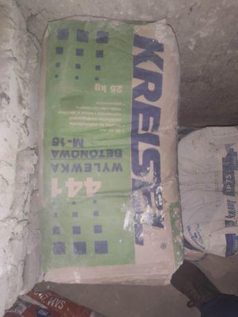 5 worków wylewka Cementowy podkład podłogowy Kreisel M-15 25 kg