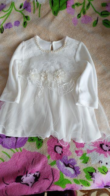 Детское платье фатин