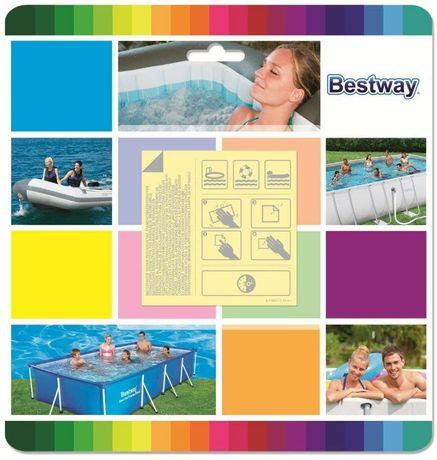Remendos x10 Bestway Reparação de Piscina Debaixo de Água