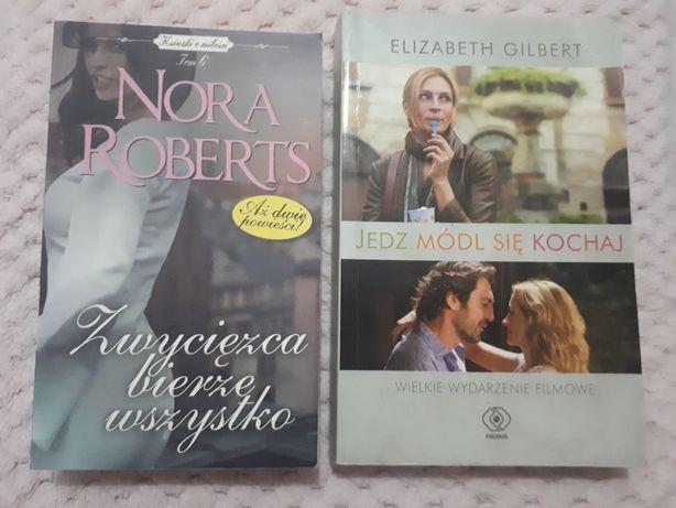 Nora Roberts Zwycięzca bierze wszystko, Elizabeth Gilbert Jedz kochaj