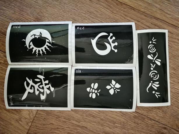 Трафареты для глитер тату или для покраски поверхностей