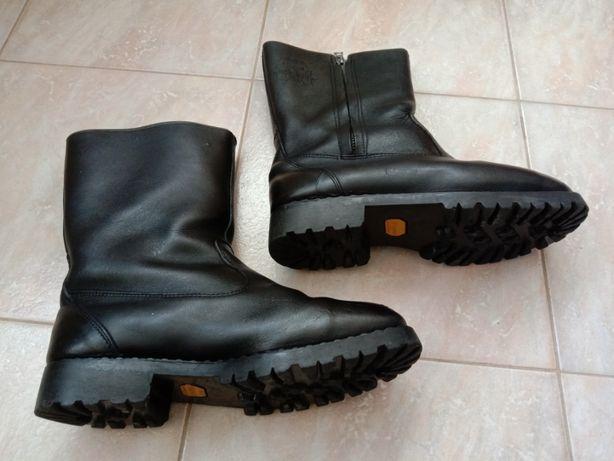 Обувь мужская , сапоги зимние ,натуральная кожа(3,5мм.)+овчина.. р.43.