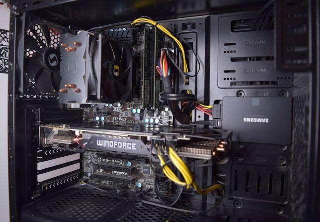 Komputer gamingowy GTX 970, I5 3570, RAM 8GB, SAMSUNG 850 EVO