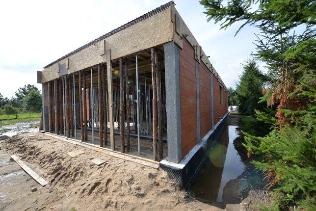 Gotowy projekt domu, POZWOLENIE NA BUDOWE, Budowa domu, Stan surowy