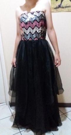 Suknia z cekinami S/M