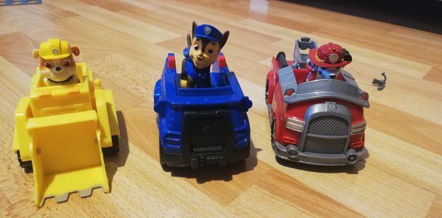 Psi Patrol, pieski, pojazdy