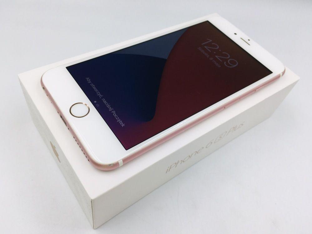 iPhone 6S PLUS 64GB ROSE GOLD • GW 12 msc • DARMOWA wysyłka •FAKTURA