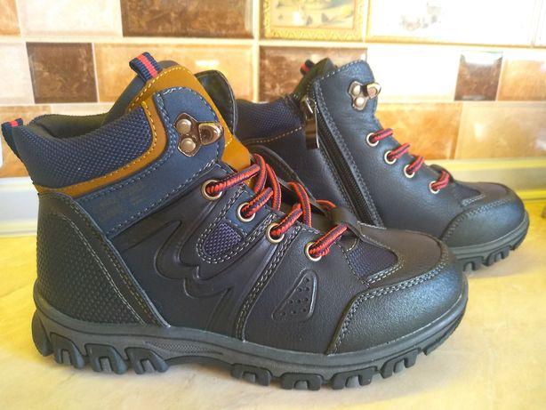 Ботинки осенние, сапожки Clibee для мальчика 28,29,30,31,32,33,34,35