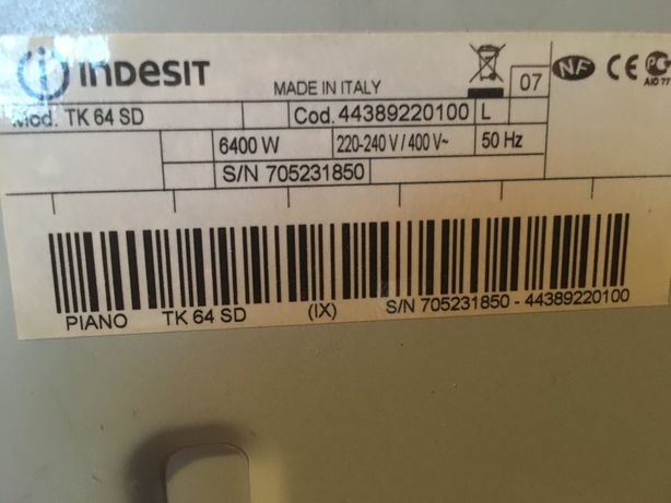 Płyta elektryczna do zabudowy Indesit