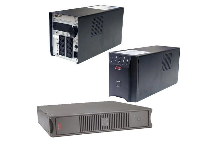 ИБП Бесперебойник APC Smart-UPS 1000VA USB для котлов и тд (синусоида)
