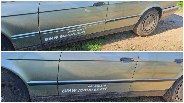 Молдинги средние BMW e34 / Комплект дверных молдингов БМВ е34
