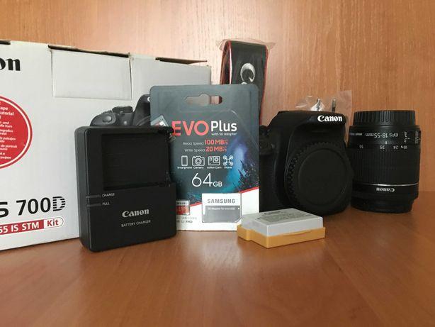 новисенький - Canon 700D EF-S  18-55 mm STM
