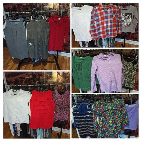Продам школьные сарафаны/ блузки / брюки / платья/ шорты / футболки