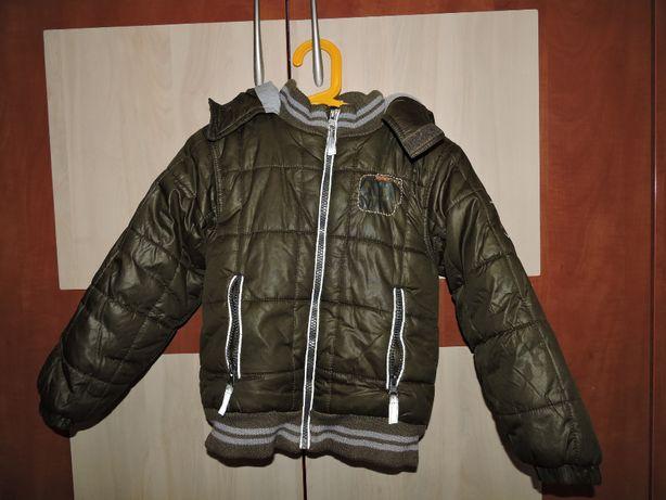 Kurtka jesienno-zimowa dla chłopca rozmiar 116 cm