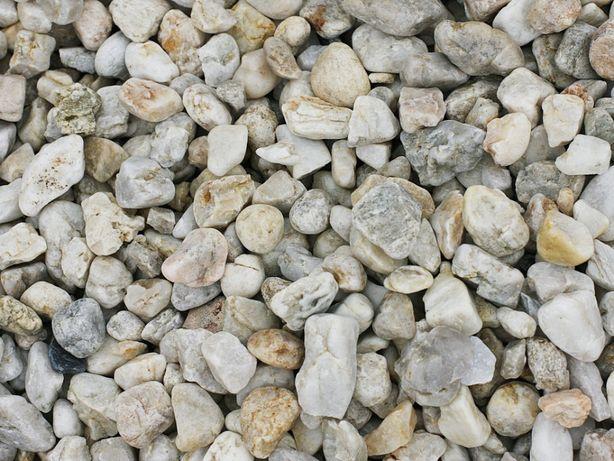 Otoczak Mleczna Droga Piękny Kamień Ogrodowy Ozdobny 8-16mm 25kg
