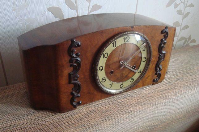 Часы каминные с маятником и боем Германия