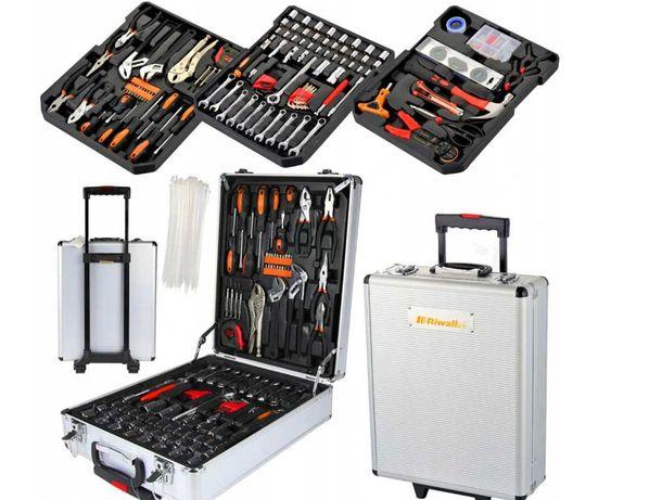 ZESTAW NARZĘDZI 750 EL walizka narzędziowa