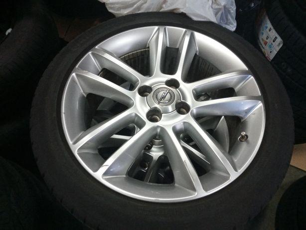 koła aluminiowe 17 opel 4x100 corsa meriva combo