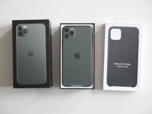 Apple iPhone 11 Pro Max 256 GB Midnight Green używany Wrocław