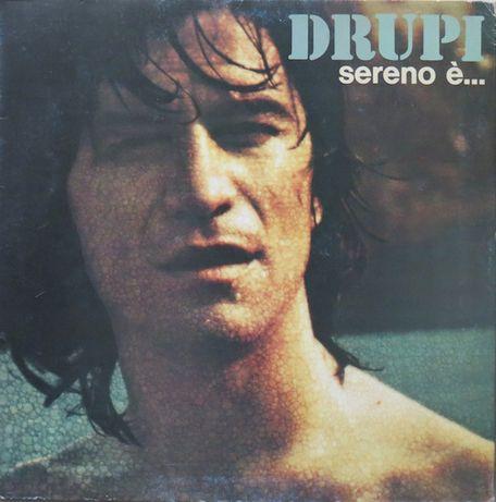 Виниловая пластинка Drupi – Sereno È... 1974 г. Италия
