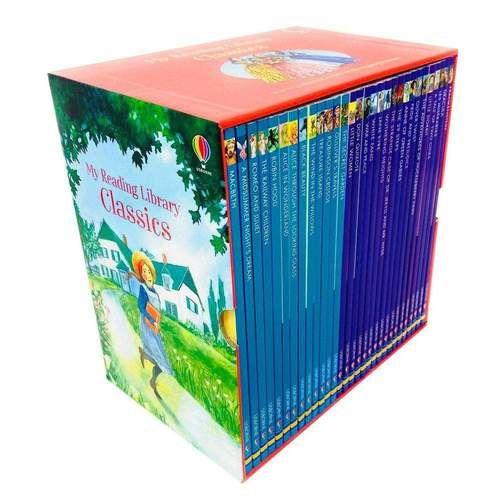 My Reading Library Classics 30 ksiazek po angielsku Usborne Warszawa - image 1