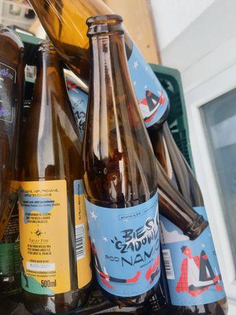 Butelki po piwie, na piwo
