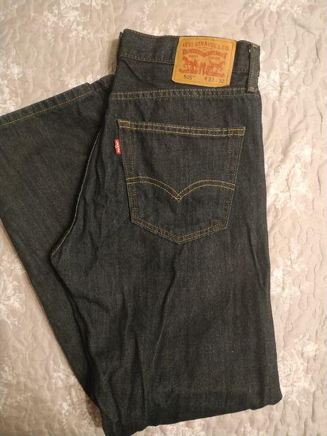 Spodnie jeans NOWE Levi's 505™ męskie 33/32