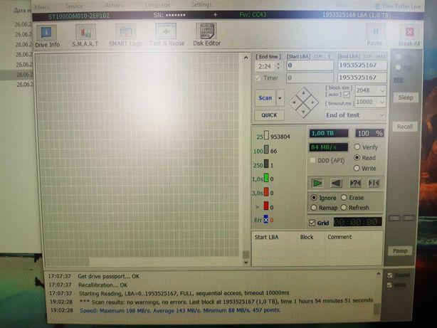 Seagate 1000 Gb 1 Tb 7200 prm 64 mb
