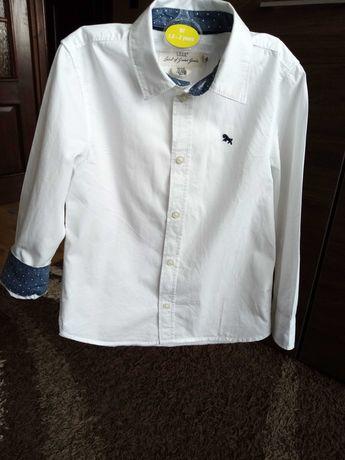 Biała koszula dla chłopaka r. 116