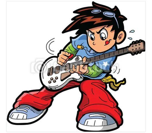 Gitarzysta, gitara, dołączy do składu lub założy nowy