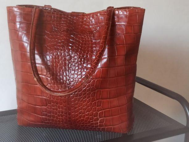 Кожаная сумка. Шкіряна сумка