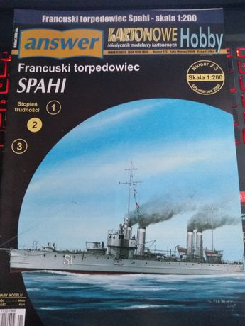 Francuski torpedowiec SPAHI