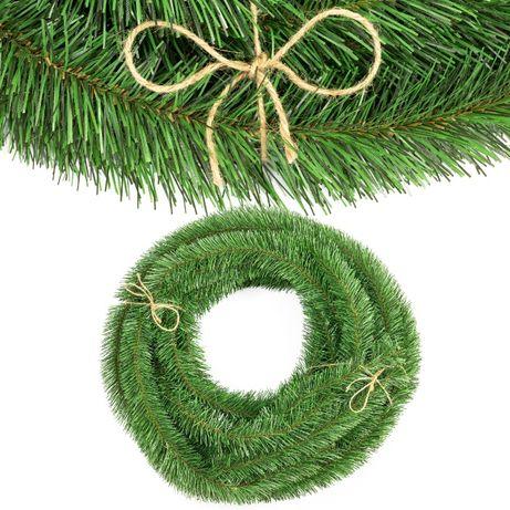 Girlanda choinkowa do wianków świątecznych stroików jedlina wyrobowa