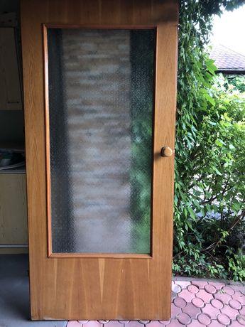 Drzwi fornir dębowy- 4 sztuki
