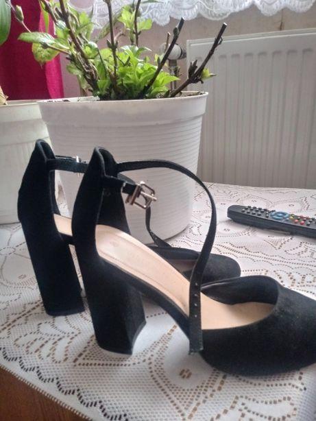 Buty czarne zamszowe Jenny Fairy 40