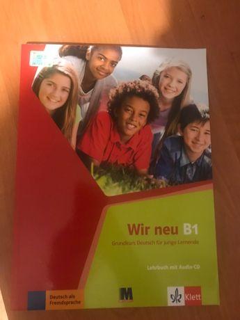 НОВИЙ комплект підручник+робочий зошит з німецької мови Wir neu B1