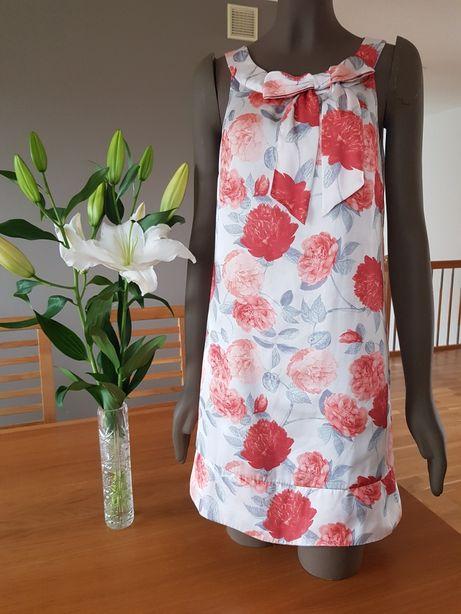 Sukienka H&M w róże rozm. 36