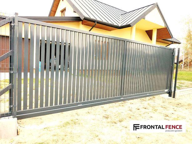 Ogrodzenia panelowe + podmurówka + montaż. 51 drutów pionowych.