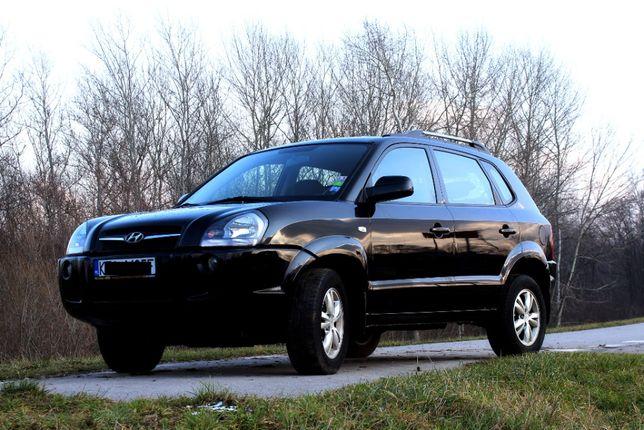 Hyundai Tucson 2009 r. 2.0 Benzyna- GAZ , Kamera cofania, Nawigacja !
