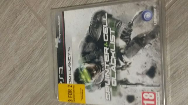 Tom clancys splinter cell blacklist ps3