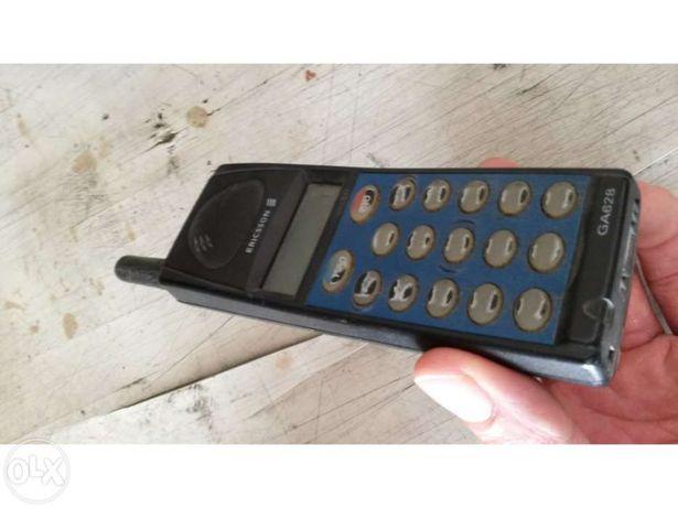 Telemóvel Ericsson GA628 (comprado em 1997)