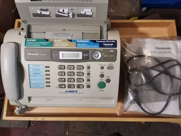 Факс лазерный, панасоник