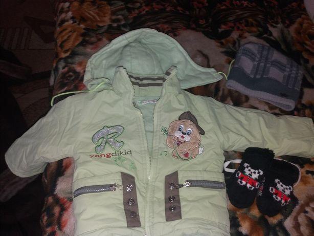 Дитяча зимова куртка на 2-3 р.