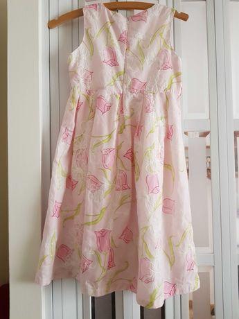 Sukienka różowa pudrowa