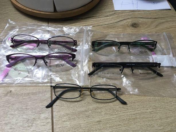 nowe dziecięce oprawki okularów 4 szt