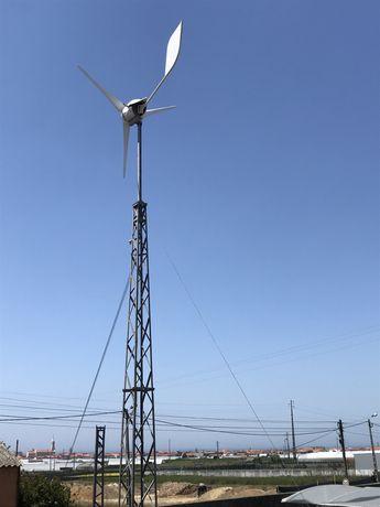 Aerogerador/eolica artesanal 48v 3000W
