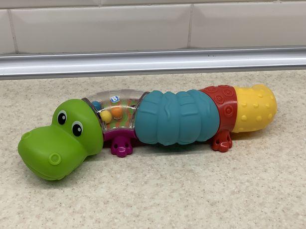 Развивающая игрушка-конструктор Sensory Кроко