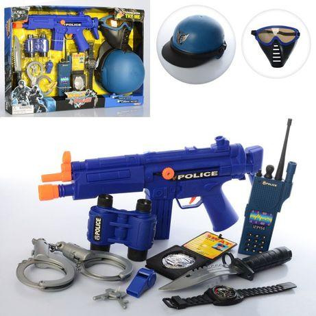 Игровой набор полиция Полицейский с автоматом limo Toy