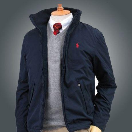 Осенняя Мужская Куртка POLO RALF LAUREN оригинал качество Код: КГА1436