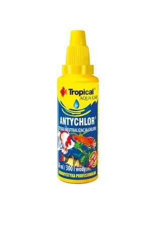 Tropical Antychlor na start akwarium i do podmian wody .